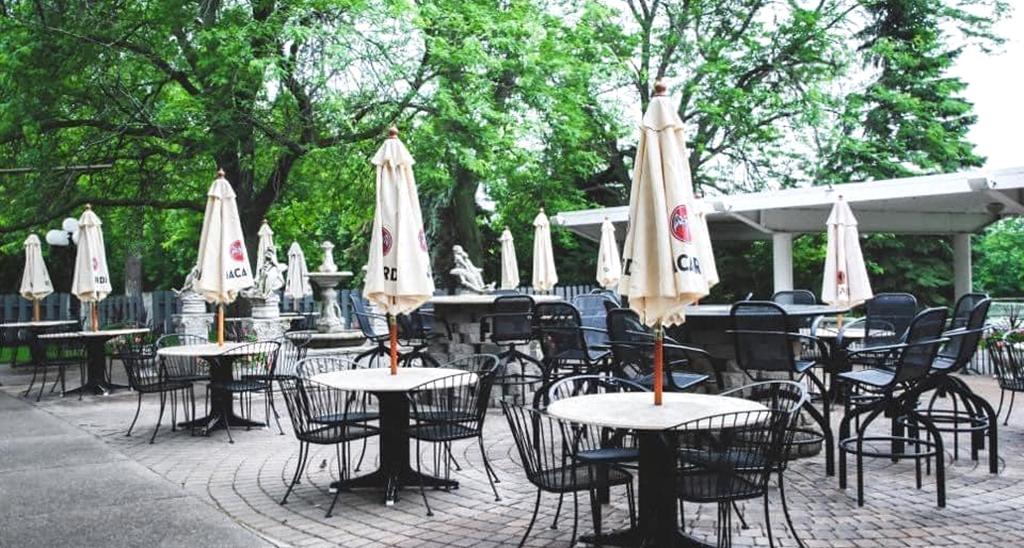 Outdoor Patio At Chart House
