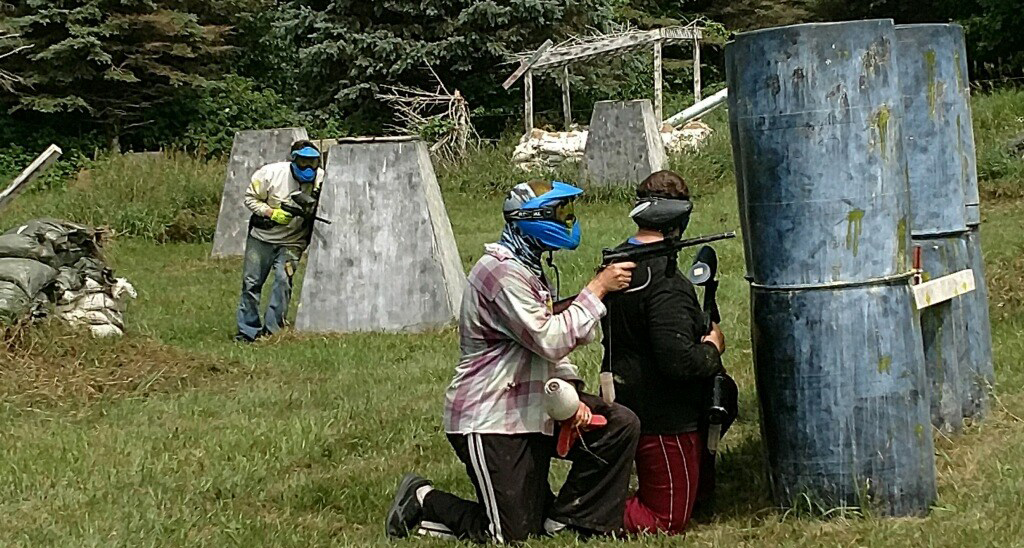 People Playing Paintball at MN Pro Paintball