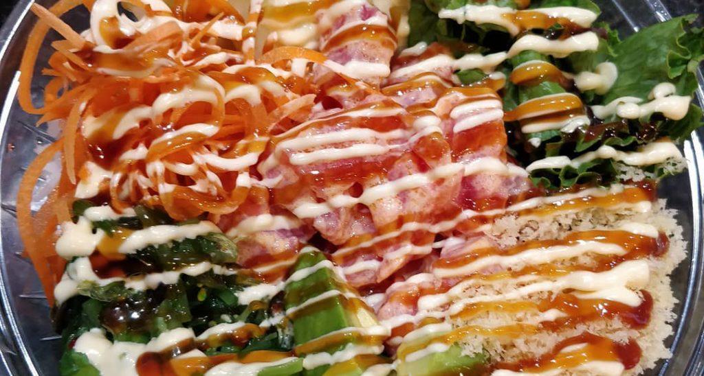 Food From Mizumi Sushi Asian Bistro
