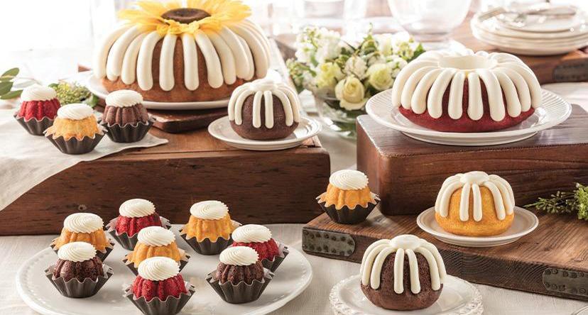 Desserts from Nothing Bundt Cakes