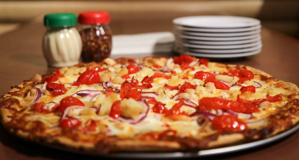 Pizza from Ol-Piper Restaurant