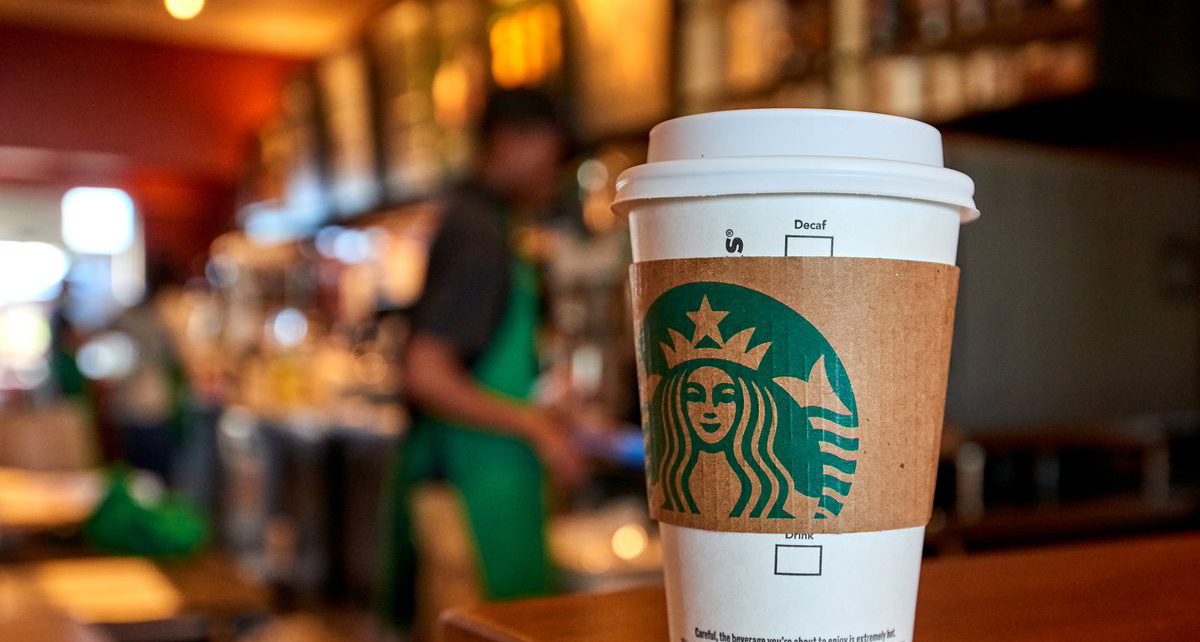 Coffee from Starbucks