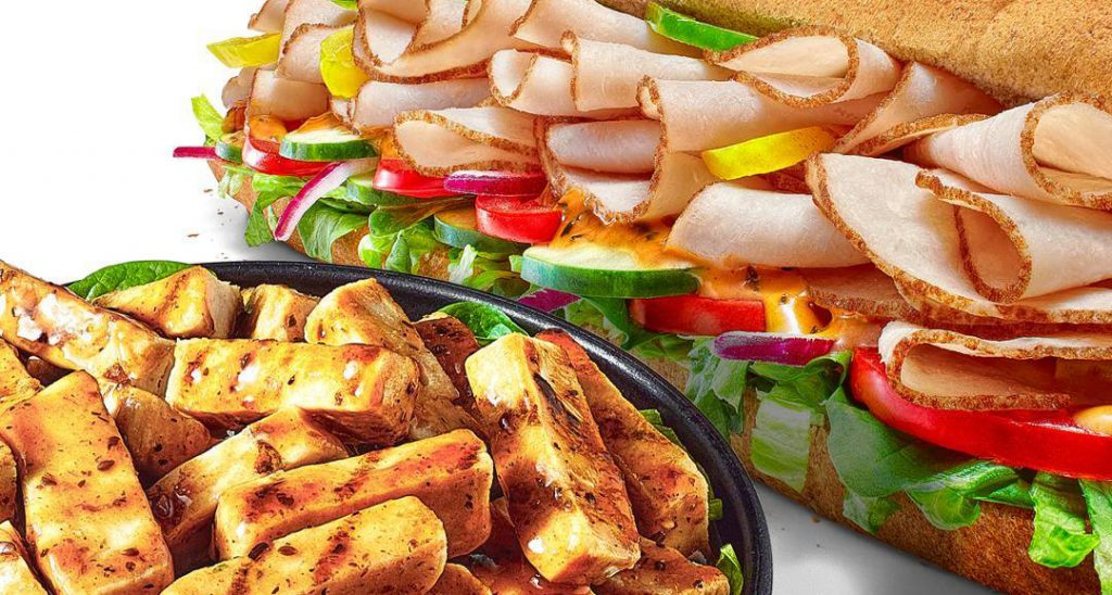 Food from Subway