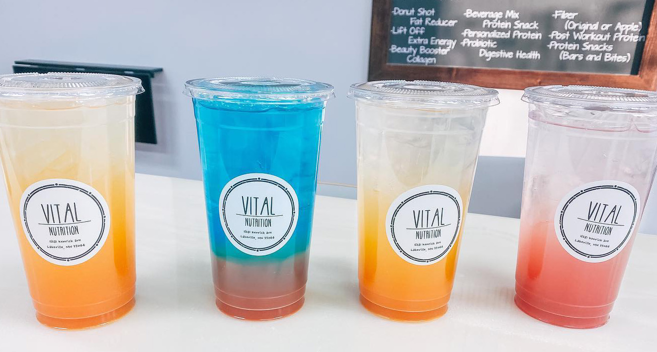 Drinks From Vital Nutrition