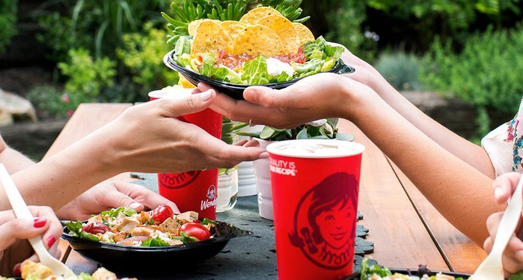 Food from Wendys