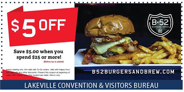 B52 Burgers Coupon