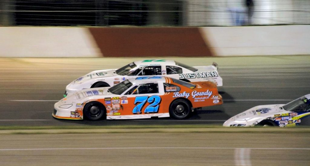 Racing Car At Elko Speedway