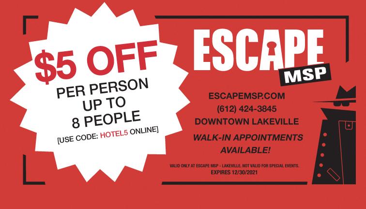 Escape MSP Coupon