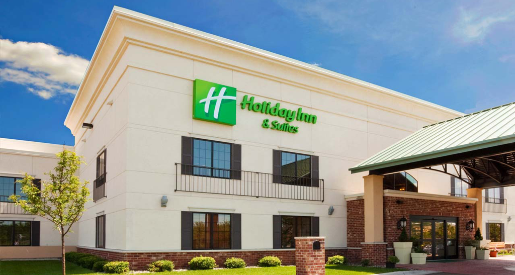 Holiday Inn Hotel Entrance