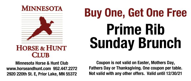 Minnesota Horse & Hunt Club Coupon