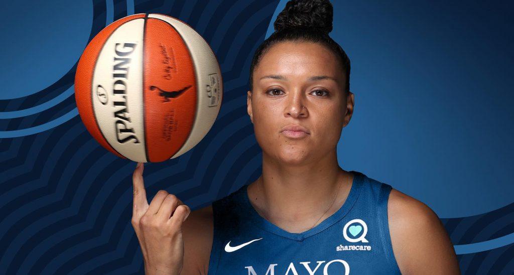 MN Lynx Basketball Player