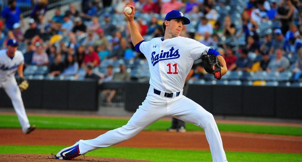St. Paul Saints Baseball Player