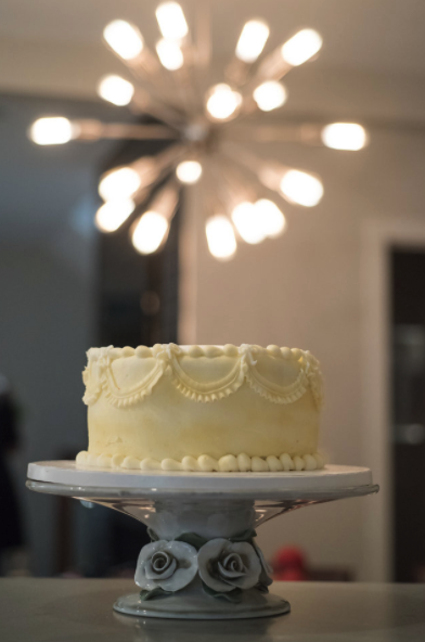 On Point wedding cake approved